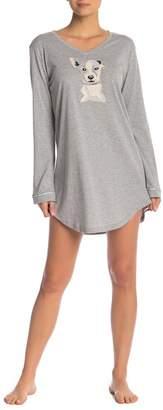 254add7c78 ED Ellen Degeneres Ellen DeGeneres Long Sleeve Sleep Shirt
