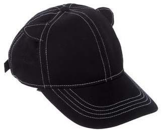 Karl Lagerfeld Cat Ear Twill Hat w/ Tags
