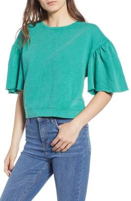 BP Cropped Short Sleeve Sweatshirt