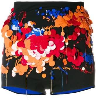 NO KA 'OI No Ka' Oi sequin embellished shorts