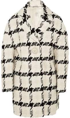 Alexander McQueen Houndstooth Tweed Coat