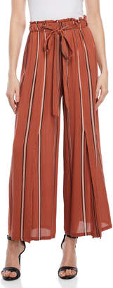 Angie Striped Wide Leg Pants
