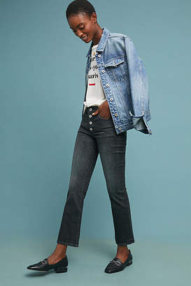 Pilcro and the Letterpress Pilcro High-Rise Cropped Bootcut Jeans