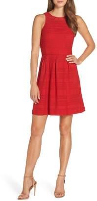 Trina Turk trina Keon Lace Fit & Flare Dress