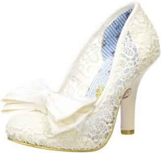Irregular Choice Womens Mal E Bow Mesh Shoes 37 EU