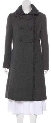 Prada Wool Double-Breasted Coat