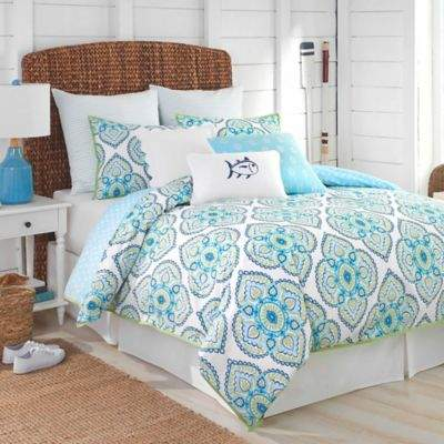 Southern Tide® Summerville Twin Comforter Set in Blue