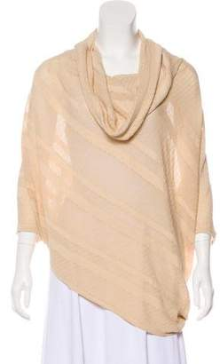 Donna Karan Knit Short Sleeve Top