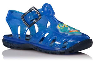 First Walkers Shark Jelly Sandals
