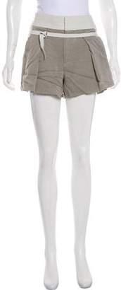 Helmut Lang D-Ring Mini Shorts