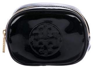 Tory Burch Patent Leather Cosmetic Bag