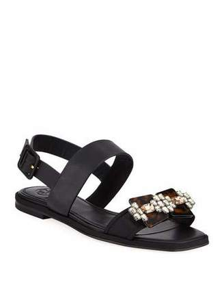 c7a12f8df788 Tory Burch Embellished Women s Sandals - ShopStyle