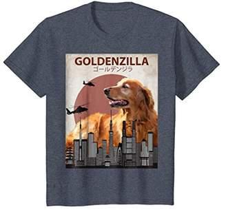 Golden Retriever Goldenzilla | Funny T-Shirt for Dog Lovers
