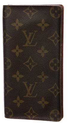 Louis Verdad Louis Vuitton Vintage Monogram Checkbook Cover
