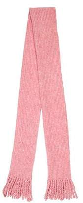 Rag & Bone Rib Knit Merino Wool Scarf