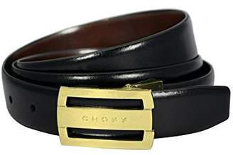 Cross Men's Genuine Leather Almeria Cut-to-Fit Style. 30 mm Flat Buckle (Reversible) Belt - ( AC328416N)