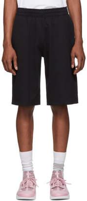 Kenzo Black Square Logo Shorts
