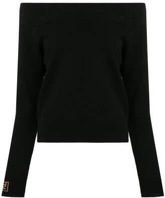 Fendi off-shoulder jumper