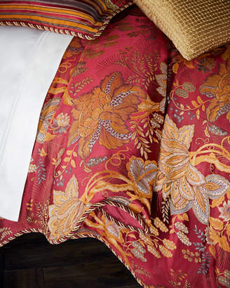 Sweet Dreams Francesca Scalloped Floral King Duvet