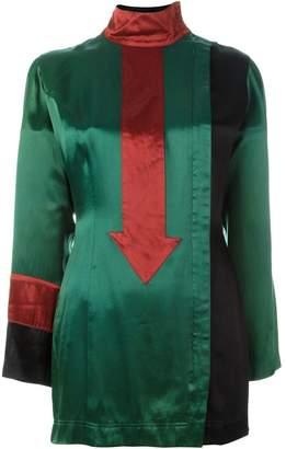 Jean Paul Gaultier Pre-Owned arrow appliqué long top