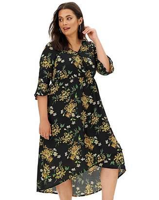 Joe Browns Floral Hi Low Hem Dress
