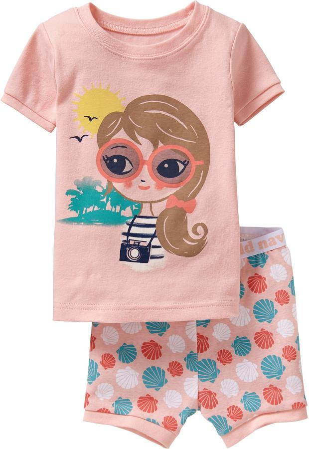 Old Navy Beach-Girl PJ Sets for Baby