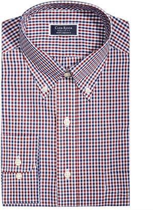 Club Room Men's Slim-Fit Performance Stretch Wrinkle-Resistant Assorted Plaid Dress Shirts