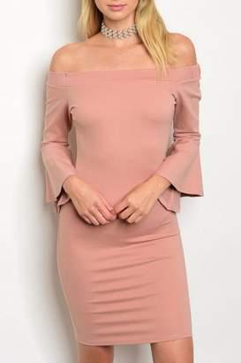 Blvd Blush Bodycon Dress