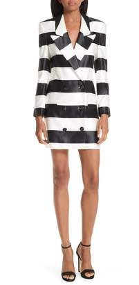 Caroline Constas Catrina Cotton & Silk Blazer Dress