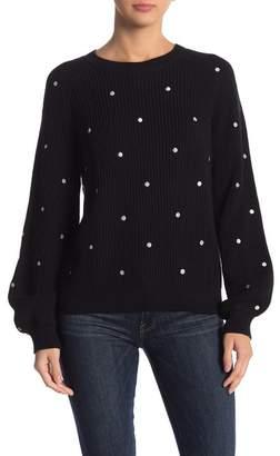 Lucky Brand Polka Dot Pullover