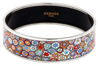 Hermes Wide Enamel Bangle