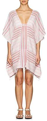 Lemlem Women's Yanet Striped Cotton Mini-Caftan