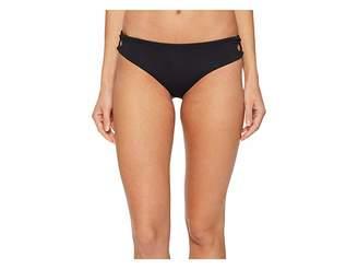 Roxy Softly Love Reversible 70's Lace-Up Bikini Bottom Women's Swimwear