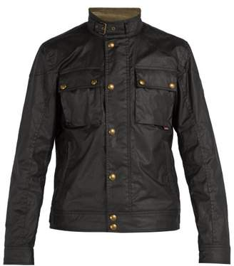 Belstaff Racemaster Patch Pocket Water Repellent Jacket - Mens - Black