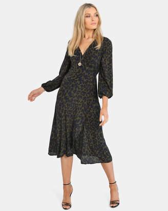 Samara Wrap Maxi Dress