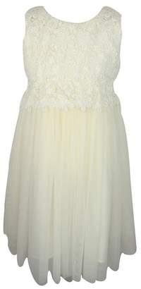 Popatu Lace Tulle Dress
