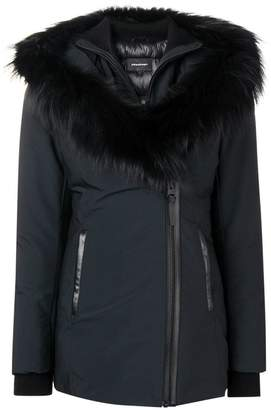 Mackage fox fur hooded coat