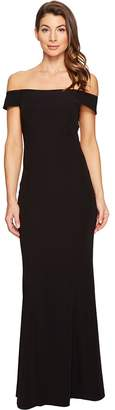 Laundry by Shelli Segal Off the Shoulder Gown Women's Dress