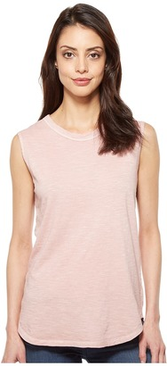 Alternative - Inside Out Slub Sleeveless T-Shirt Women's Sleeveless $38 thestylecure.com
