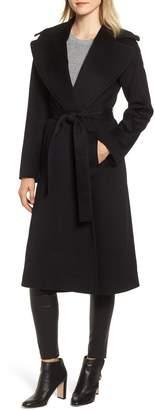 Fleurette Loro Piana Wool Wrap Coat