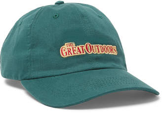 Pasadena Leisure Club - Embroidered Cotton-Twill Baseball Cap - Men - Green