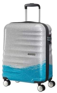 American Tourister Wavebreaker 21.5-Inch Sparkle Spinner Carry-On