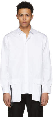 D by D White Front Pocket Shirt