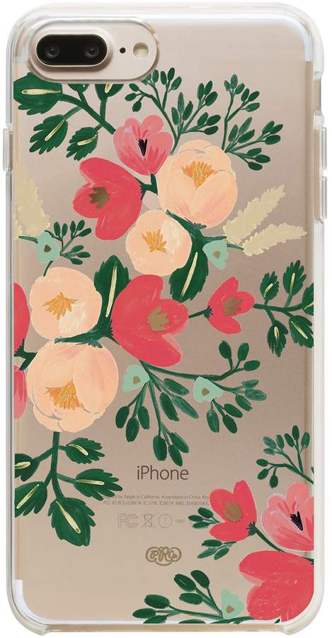 Rifle Paper Co Clear Peach Blossom 6/6S/7/8 iPhone Case