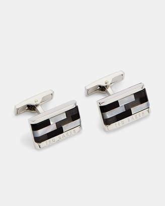 Ted Baker CURE Mosaic semi-precious cufflinks