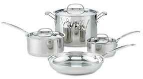 CuisinartChef's Classic Cookware Set (7 PC)