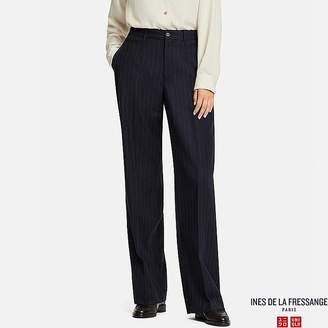 Uniqlo Women's Wool-blend Wide Pants (ines De La Fressange)