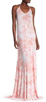 American Twist Halter Maxi Dress