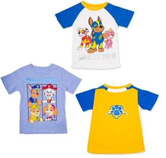 Paw Patrol T-shirt With Cape & Graphic T-shirt, 2-pack (Toddler Boys)