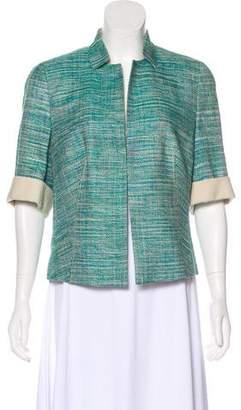 Akris Structured Tweed Jacket